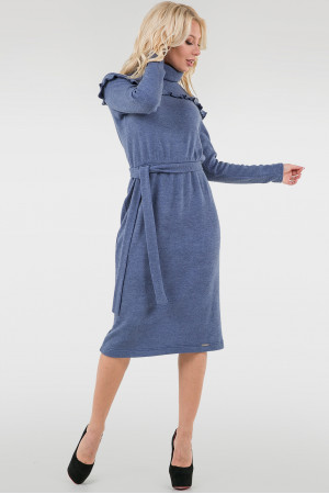 Сукня «Кловер» кольору джинс