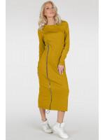 Сукня «Астрід-весна» гірчичного кольору