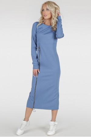 Платье «Астрид-весна» цвета джинс