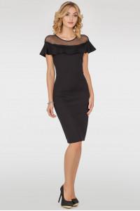 Платье «Дижона» черного цвета
