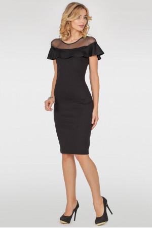 Сукня «Діжона» чорного кольору