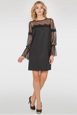 Платье «Лианна» черного цвета