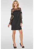 Сукня «Ліанна» чорного кольору