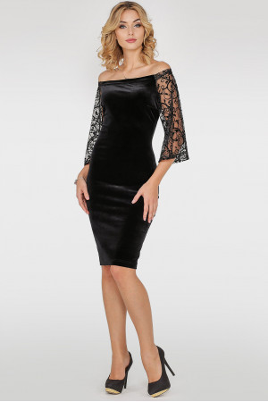 Сукня «Джанін» чорного кольору