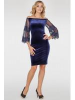 Сукня «Джеральдін» синього кольору