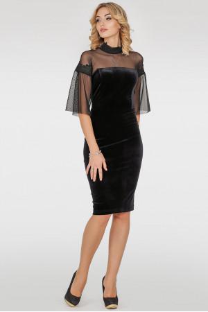 Платье «Мисси» черного цвета