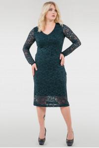 Сукня «Стелла» темно-зеленого кольору