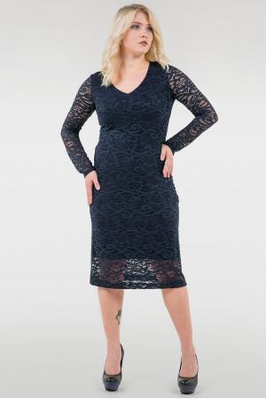Платье «Стелла» синего цвета