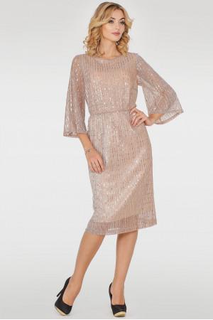 Сукня «Глевіс» золотавого кольору