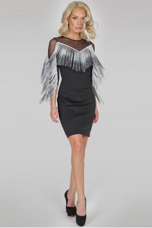 Сукня «Румба» чорного кольору