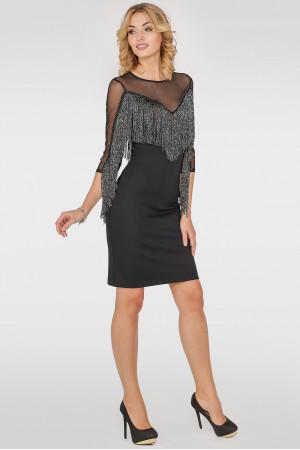 Платье «Самба» черного цвета