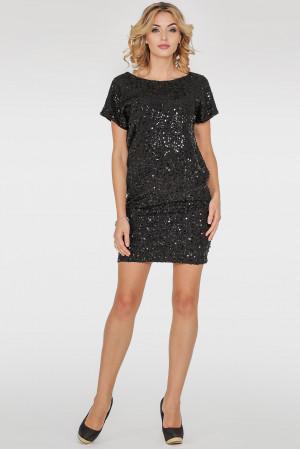 Платье «Бретонь» черного цвета