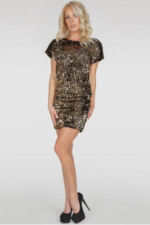 Сукня «Шанталь» золотавого кольору