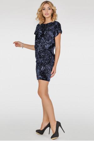 Платье «Шанталь» синего цвета