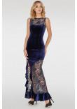 Сукня «Амідала» синього кольору
