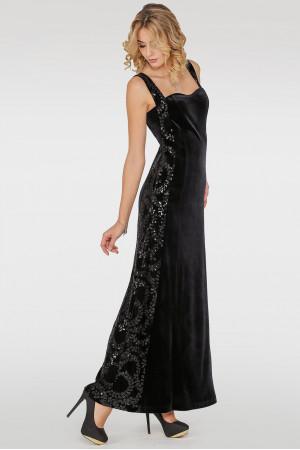 Платье «Бианка» черного цвета