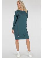 Платье «Марон» цвета морской волны