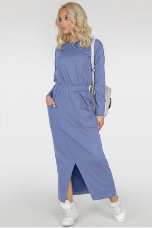 Платье «Ольвия» голубого цвета