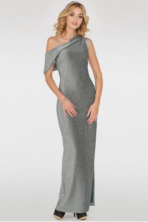 Сукня «Даніель» сріблясто-зеленого кольору