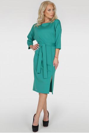 Платье «Савоярди» зеленого цвета