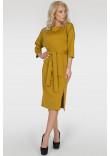 Сукня «Савоярді» гірчичного кольору