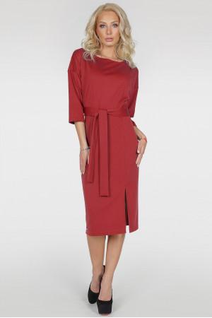 Платье «Савоярди» красного цвета
