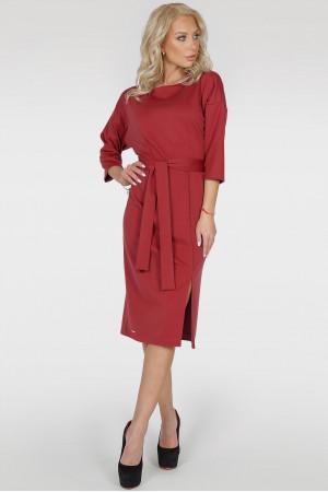 Сукня «Савоярді» червоного кольору