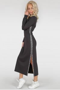 Платье «Вилима» черного цвета