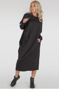 Платье «Клион» черного цвета