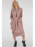 Платье «Клион» цвета пудры