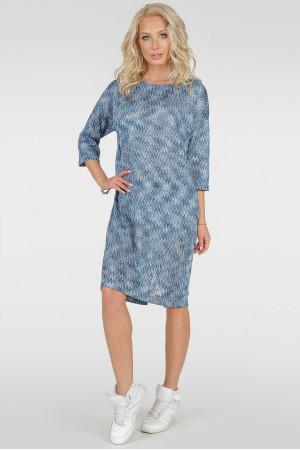 Платье «Лойд» голубого цвета