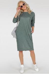 Сукня «Лойс» зелений тон