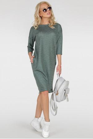 Платье «Лойс» зеленый тон