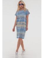 Сукня «Арета» жовтого з блакитним кольору