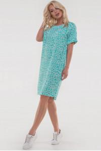 Платье «Арета» мятного цвета