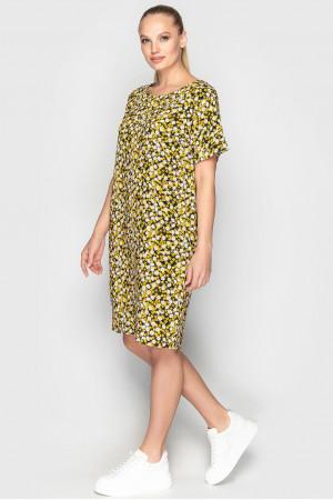 Сукня «Арета» чорно-жовтого кольору