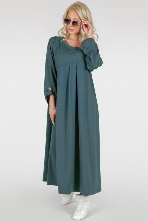 Платье «Калхида» цвета морской волны