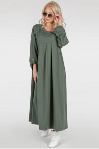 Сукня «Калхида» кольору хакі