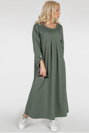 Платье «Калхида» цвета хаки