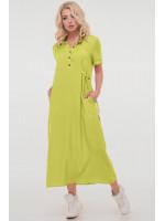 Сукня «Адді» салатового кольору