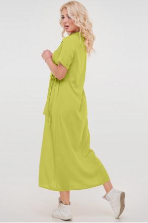 Платье «Адди» салатового цвета