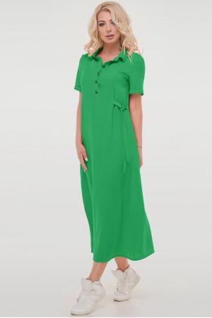 Платье «Адди» зеленого цвета