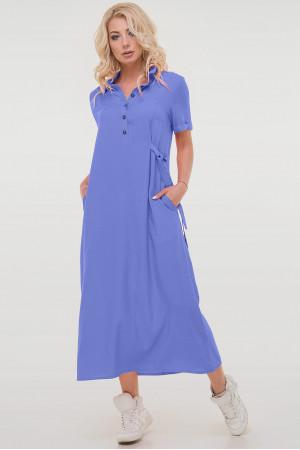 Платье «Адди» цвета джинс