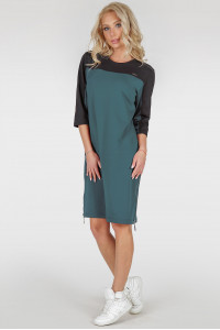 Сукня-туніка «Ері» кольору морської хвилі