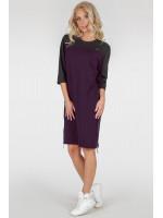 Сукня-туніка «Ері» кольору марсала