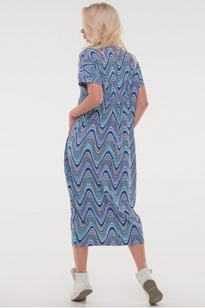 Сукня «Парнас» синій тон