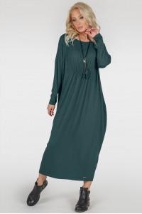 Платье «Авалон» зеленого цвета