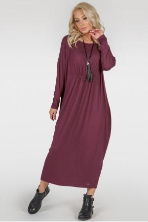 Платье «Авалон» бордового цвета