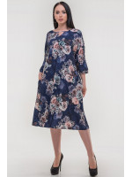 Платье «Саймель» синего цвета
