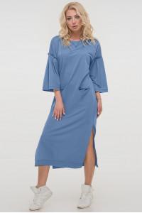 Сукня «Ніккі» сіро-блакитного кольору